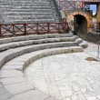 Small amphitheater in Pompeii - Stock Photo