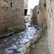 Pompeii street - Stock Photo