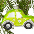 Royalty-Free Stock Photo: Christmas car