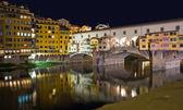 Ponte vecchio, Florence — Stock Photo