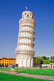 Torre inclinada de pisa — Foto de Stock