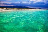 La Cinta beach in Sardinia — Stock Photo