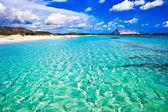 La Cinta Beach in Italy — Stock Photo