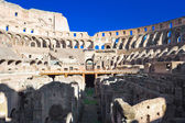 Ruins of Colosseum in Rome — Stock Photo