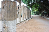 Columns in Pompeii — Stock Photo