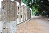 Columns in Pompeii — Stock Photo