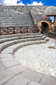 Small amphitheater in Pompeii — 图库照片