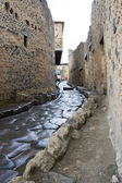 Pompeii street — Stock Photo