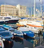 Yachts in Naples — Stock Photo