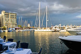 Naples port — Stock Photo