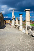 Ancient ruins of Pompeii — Stock Photo