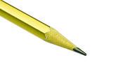 Golden pencil — Stock Photo