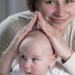 Mather with baby — Stock Photo