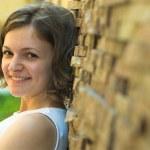 Happy smiling girl — Stock Photo #1058211