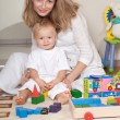 Young mother and her little son — Stock Photo #1059908