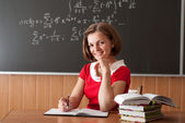 Young teacher — Foto Stock