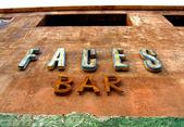 Abandoned bar — Stock Photo