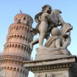 Leaning Tower of Pisa, Italy - ストック写真
