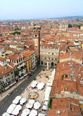 Verona panoramic view, Italy — Stock Photo
