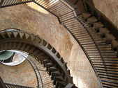 Spiral staircase in tower in Verona — Stock Photo