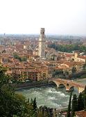 Verona panoramic view, Italy — Stock Photo