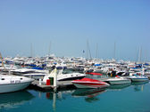 Marinas in Dubai — Stock Photo