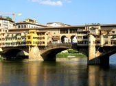 Ponte Veccio in Firenze, Italy — Stock Photo
