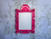 Frame on the wall — Stock Photo