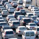 trafik sıkışıklığı — Stok fotoğraf