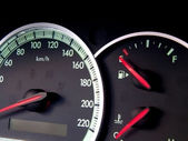 Speedometer, — Stock Photo