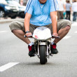 Stock Photo: Minibike racing