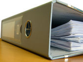 Filing Documents — Stock Photo