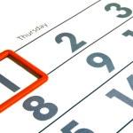 Calendar — Stock Photo #1268643