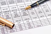 Consultor financeiro empresária negócios finanças uma pessoa gerente arquivo pessoas segurando re marketing — Fotografia Stock