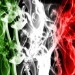 Stock Photo: Abstract italian flag