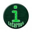 Internet button — Stock Photo