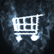 Royalty-Free Stock Photo: Shopping cart