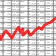 Stock market chart — Stock Photo #1012669