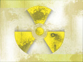 Nuclear background — Stock Photo