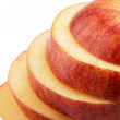 Royalty-Free Stock Photo: Cut apple