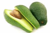 Ripe avocado — Foto Stock