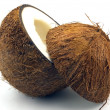 Stock Photo: Cut coconut