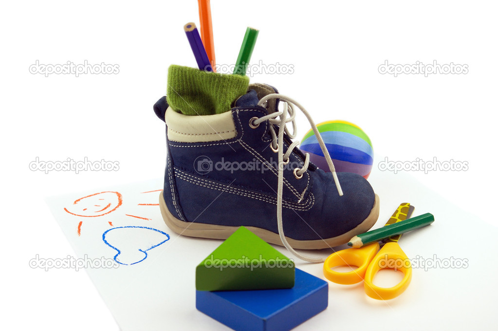 Baby's footwear — Stock Photo #1037886