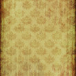 Vintage wallpaper with floral pattern — 图库照片