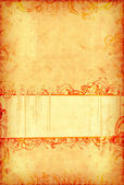 Vintage wallpaper with grungy copy-space — Stock Photo