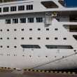 White passenger ship — Stock Photo