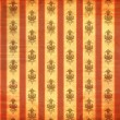 Royalty-Free Stock Photo: Vintage wallpaper with scratches