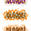 Royalty-Free Stock Photo: Illustration of aloha word