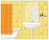 Illustration of bathroom — Stock Photo
