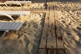 Abend am strand — Stockfoto